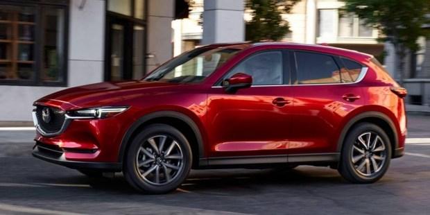 Mazda CX-5 превратится в заднеприводное кросс-купе