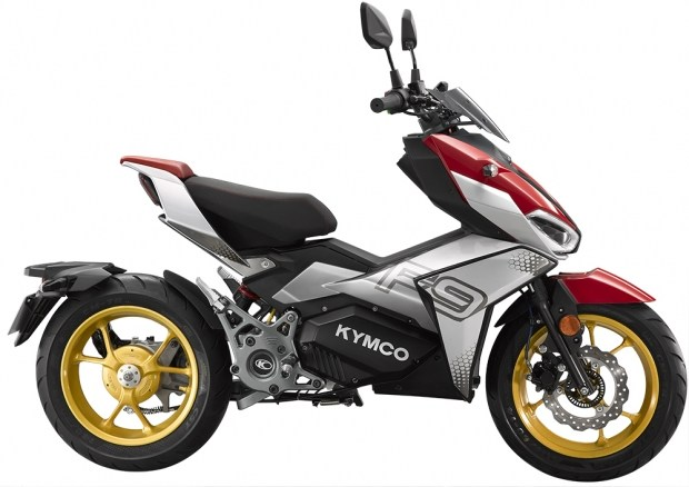 Ещё одна новинка от Kymco: электрический F9