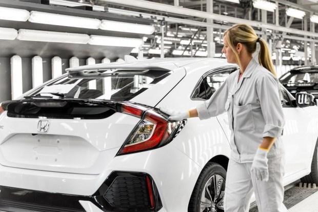 Honda закрыла завод в Великобритании