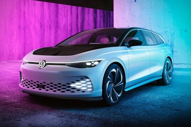 VW ID 6: новый электрокар с запасом хода в 700 км