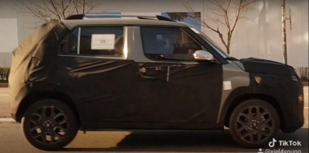 Самый дешёвый кроссовер Hyundai попал на видео
