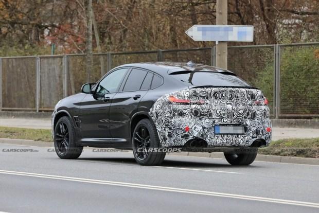 Обновленная BMW X4 M выехала на дороги