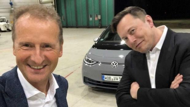Volkswagen превращается в Tesla
