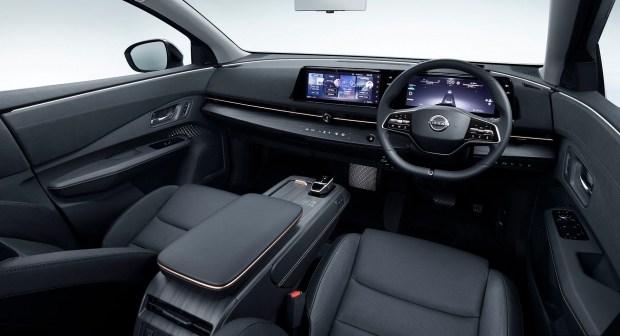 Nissan Ariya приедет в Европу с Японии