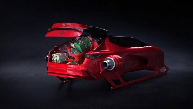 Lexus представил новинку - гибридные сани с «бесконечным» багажником