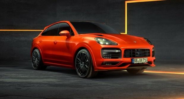 Techart прокачала гибридный Porsche Cayenne