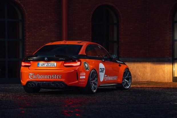 BMW M2 CSL своими руками
