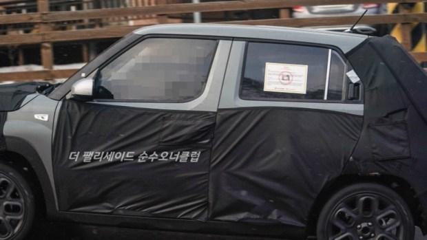 Hyundai тестирует новый компактный кроссовер