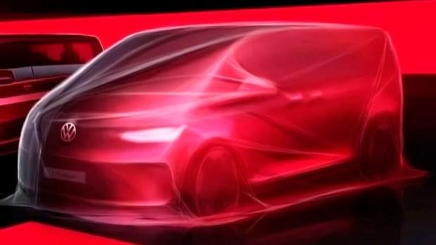 VW приступил к тестам T7 Multivan