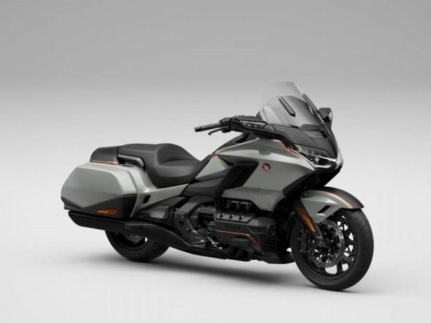 Обновленный мотоцикл Honda GL1800 Gold Wing