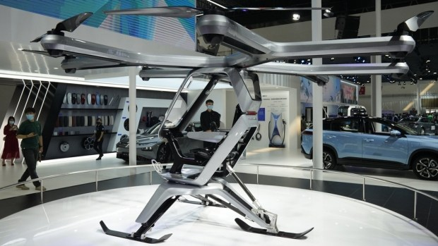 Xpeng Motors выпустит летающий авто до конца 2021 года