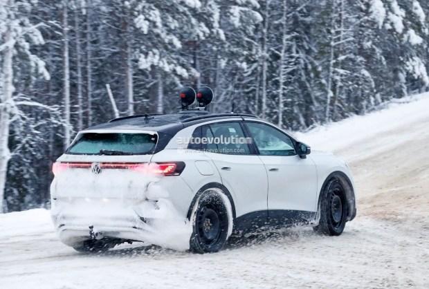 Фотошпионы раскрыли любопытные детали VW ID.4