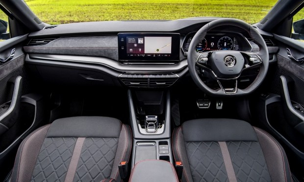 Заряженный дизель: Skoda добавила Octavia vRS мотор 2.0 TDI