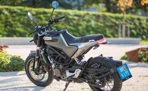 Новый мотоцикл Husqvarna Svartpilen 125