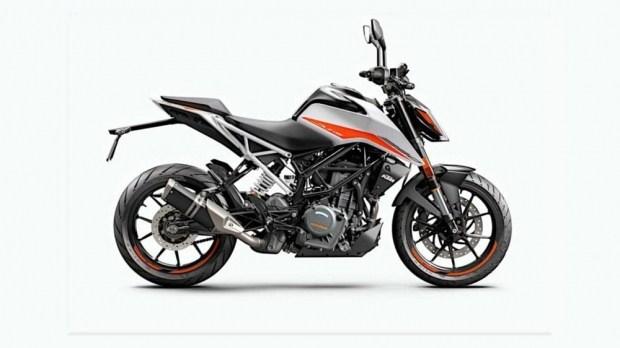 Представлены мотоциклы KTM 125 / 390 Duke c EURO5