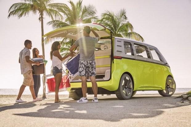 Электрический VW ID.Buzz задерживается еще на год