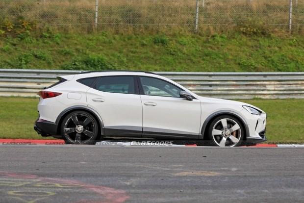 «Горячий» Cupra Formentor c мотором от Audi
