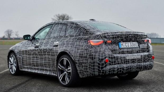 BMW i4 готовится пойти в серию