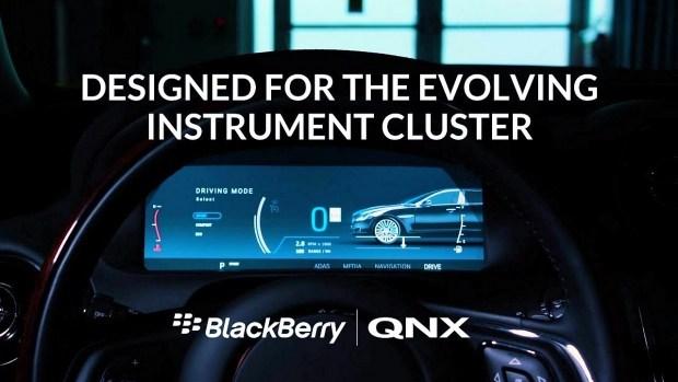 BlackBerry поможет электрокарам GAC