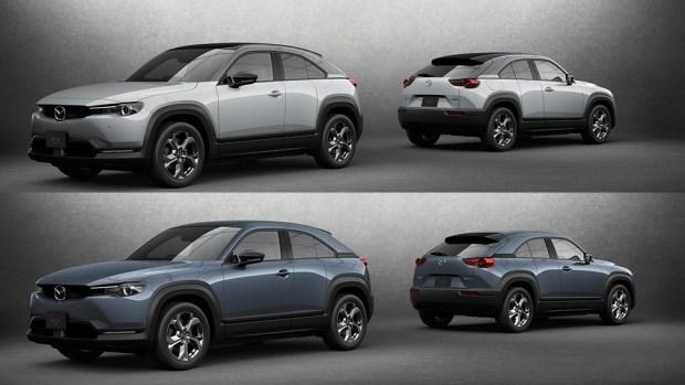 Электрическая Mazda MX-30 поступила в продажу