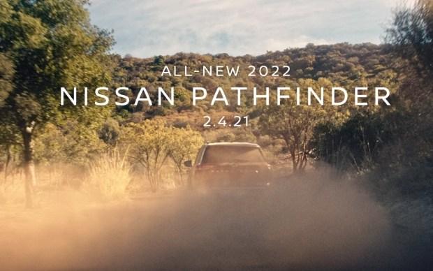 Новый Nissan Pathfinder показался на видео