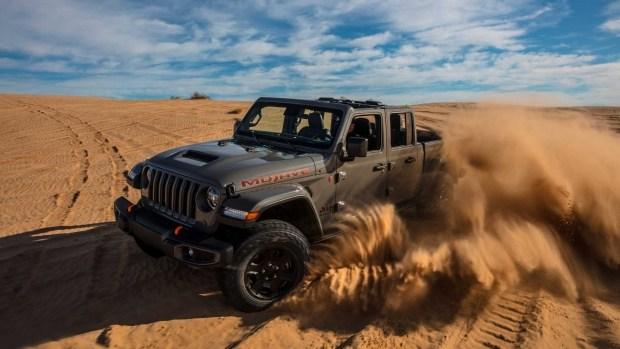 Jeep посадит Гладиатора на веганское питание