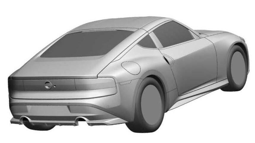 Внешность нового спорткара Nissan раскрыта до премьеры