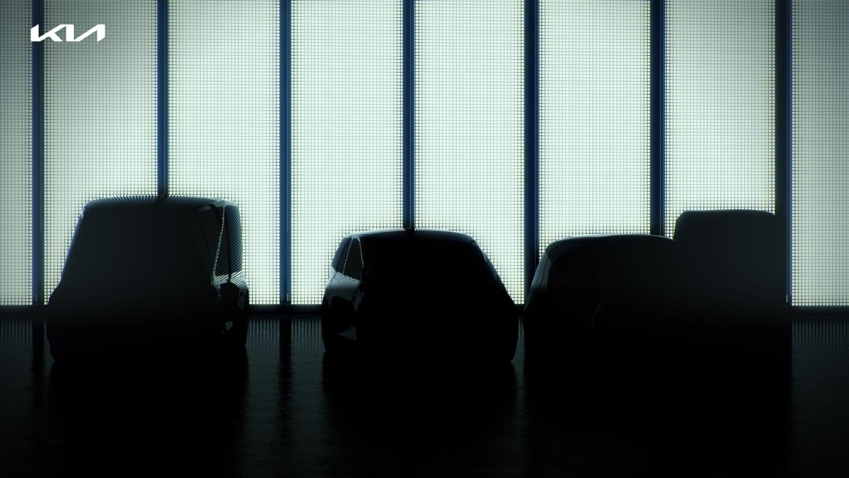 Kia анонсировала семь новых электрокаров
