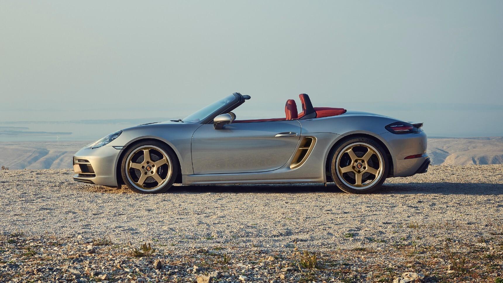 Porsche представил юбилейный Boxter 25 Years