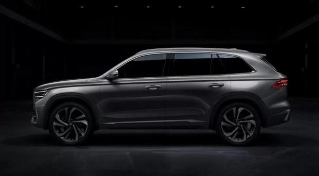 Новинка от Geely: платформа Volvo, размер Santa Fe