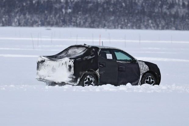 Hyundai Santa Cruz выехал на тесты
