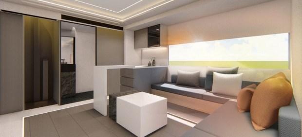 Автодом Maxus V90: двухэтажная Villa с лифтом и балконом