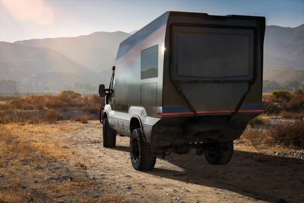 Полностью автономный автодом для экстремальных экспедиций