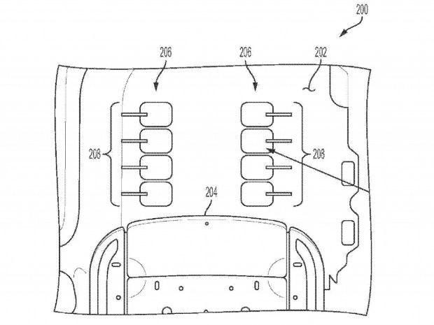 Массаж ног: новый патент GM