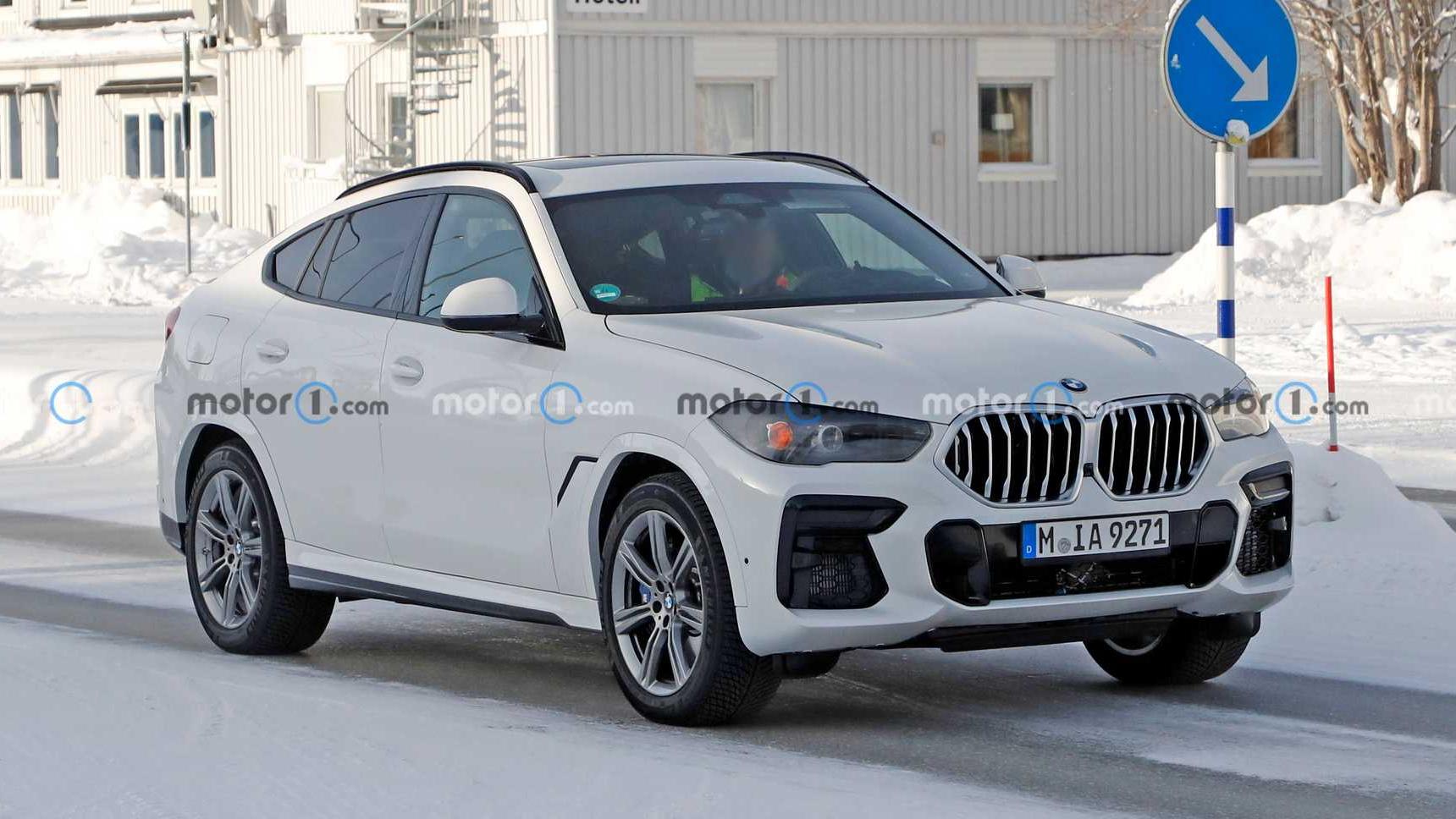 Обновленный BMW X6 обзаведется большим изогнутым дисплеем