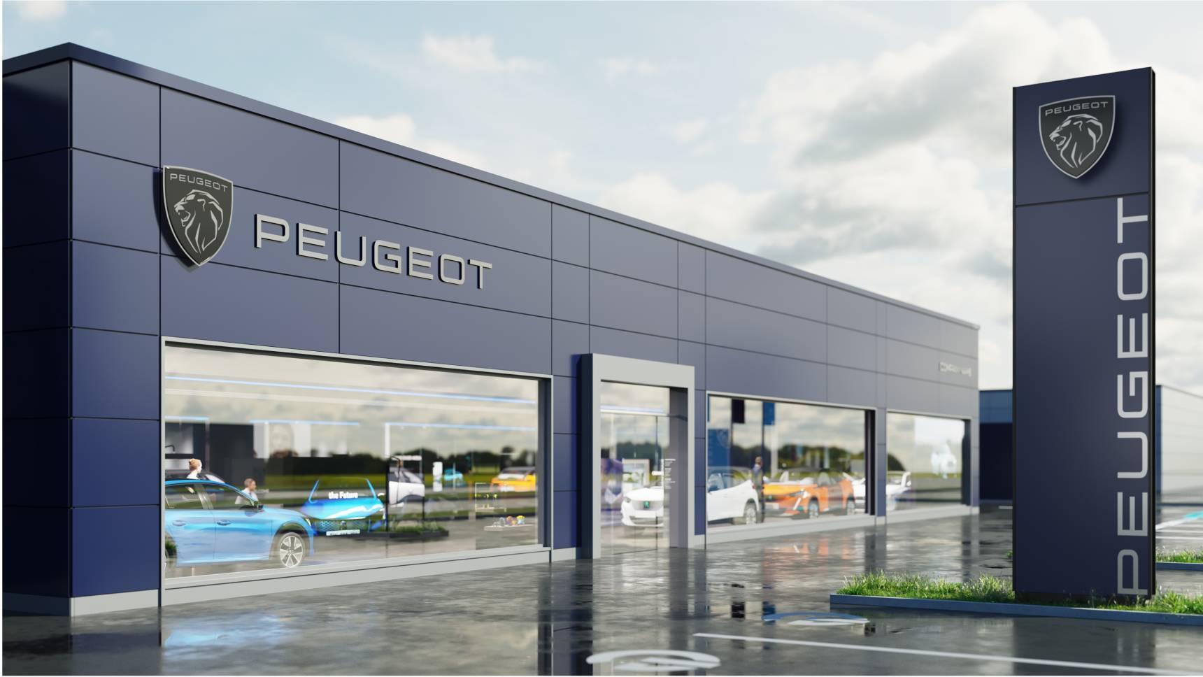 Peugeot отрастил клыки на логотипе