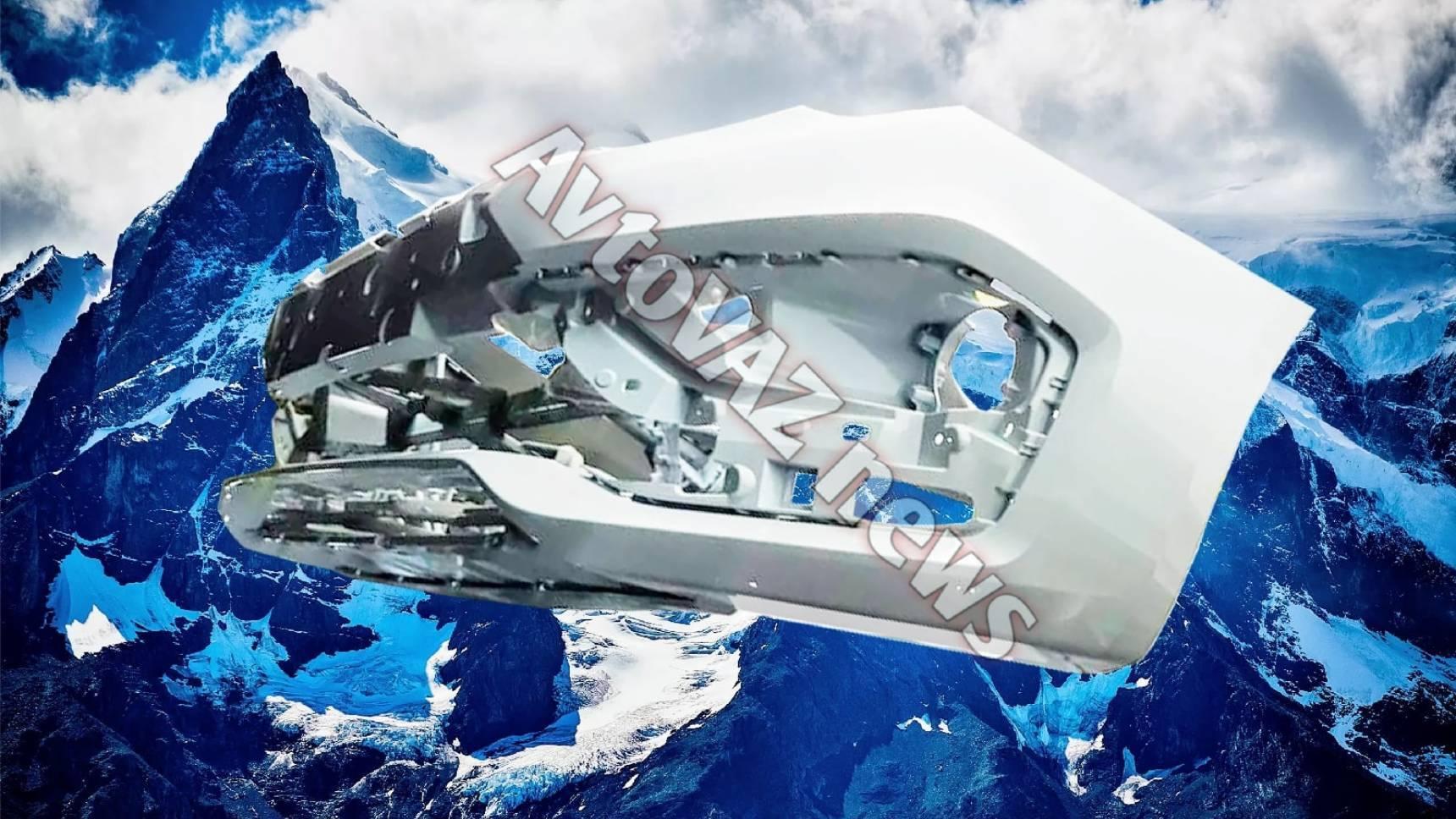 Чем удивит обновлённая Lada Vesta: есть первые детали передка