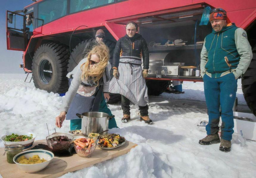 Знакомьтесь: ледникобус, покоритель Лангйокудля