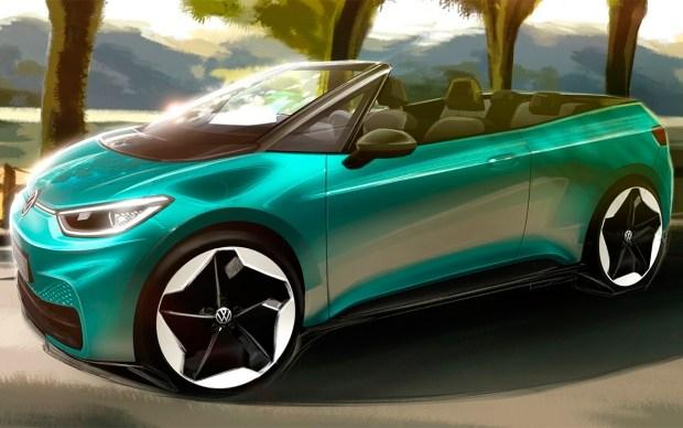 VW готовит новый кабриолет?
