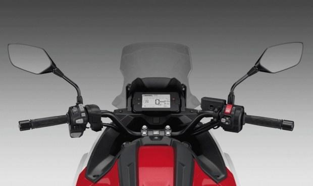 Обновленный мотоцикл Honda NC750X