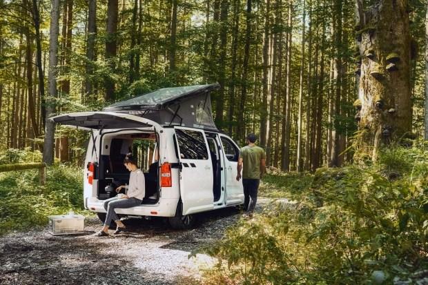 Opel Zafira для жарки зефира
