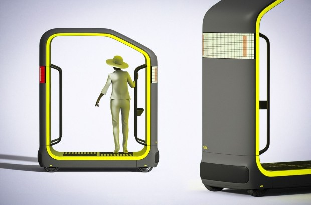 Мир без пробок: беспилотная капсула New Deal Design