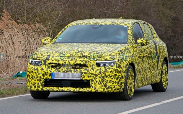 Первые изображения нового Opel Astra