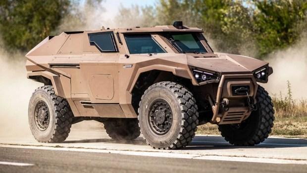 Arquus Scarabee: лучший внедорожник для армии?