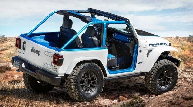 Это все... Jeep Wrangler стал электромобилем