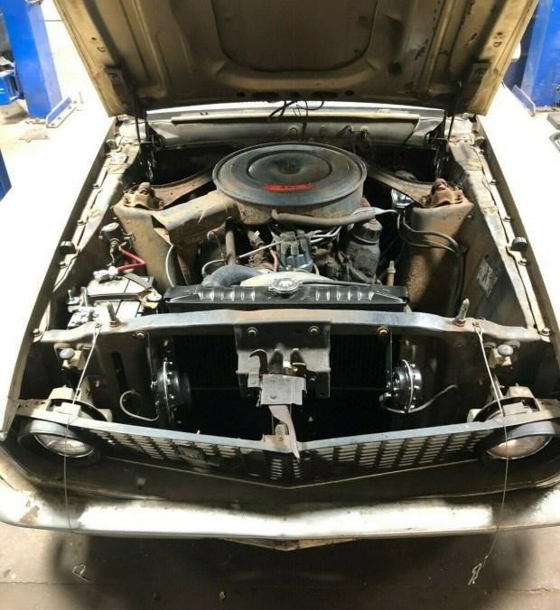 Ford Mustang Mach 1: 40 лет простоя, а работает как часы
