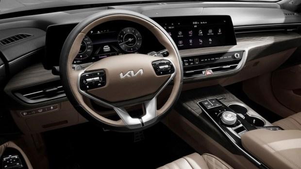 Новый KIA K8: техника и комплектации