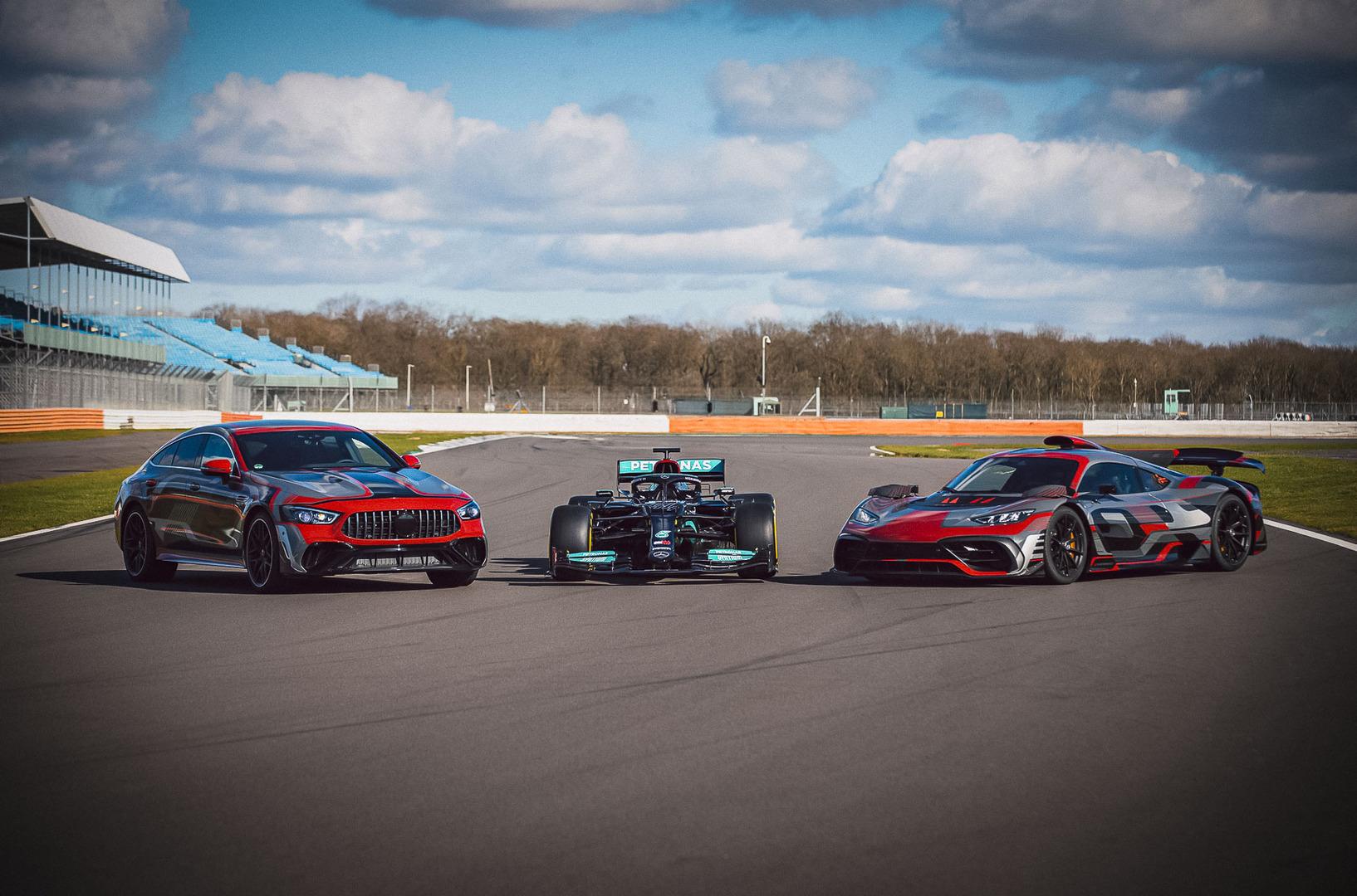 Mercedes-AMG анонсировал мощнейший суперседан GT73
