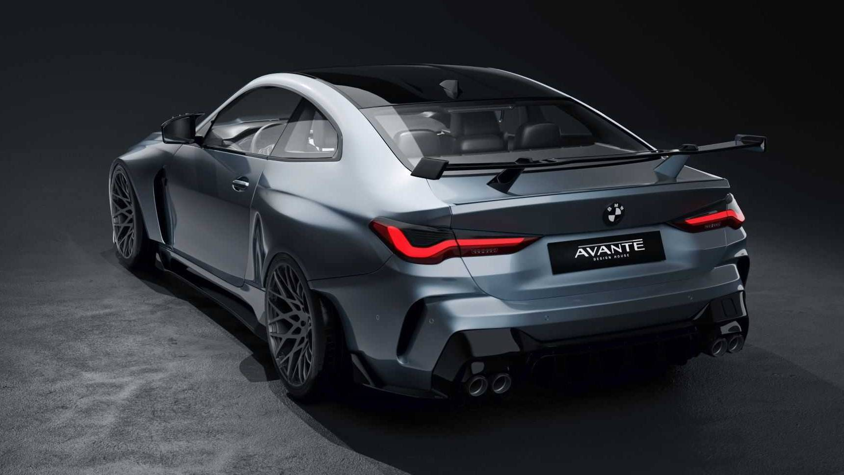 Тюнеры исправили дизайн BMW M4