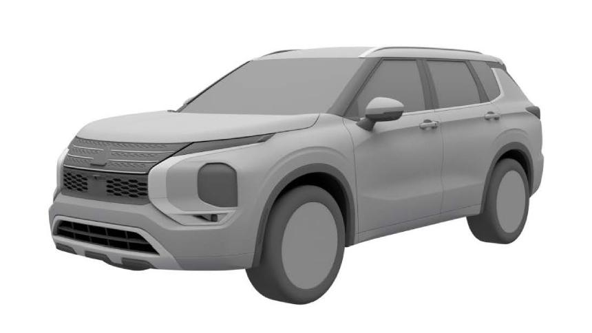 В России запатентован новый Mitsubishi Outlander
